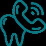 Ícone de contacto telefónico da Diodental